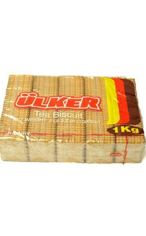 ULKER-TEA BISCUITS- HALAL 2lbs - California Inmate Care Package