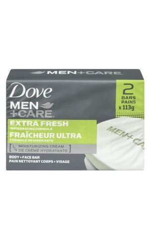 Dove Men+Care Body and Face Bar 2pk - Wilson Inmate Package Program