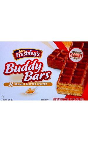 Mrs. Freshley's Peanut Butter Buddy Bars - California Inmate Care Package