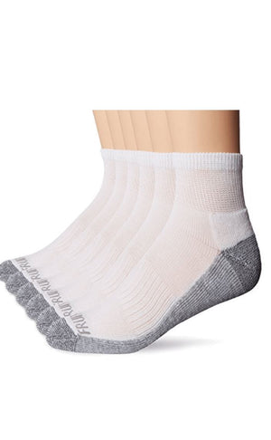 Fruit of the Loom Men's Ankle Sock 6pck - Wilson Inmate Package Program