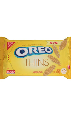 Nabisco Oreo Thins Golden Cookies, 14.3oz - California Inmate Care Package