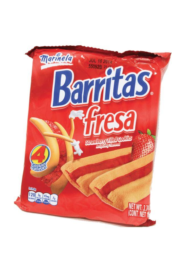 Marinela Barritas de Fresa, Strawberry