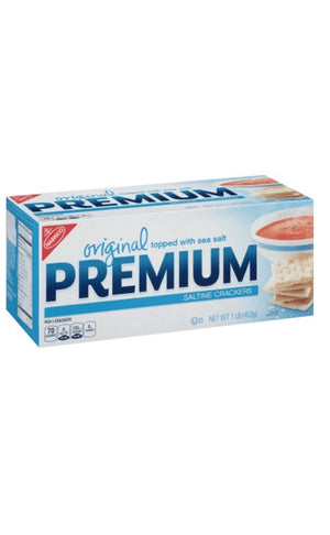 Nabisco Premium Saltine Crackers, 17oz - California Inmate Care Package