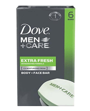 Dove Men+Care Body and Face Bar 6pk - Wilson Inmate Package Program