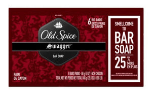 Old Spice Red Zone Mens Bar Soap 6 Bars - California Inmate Care Package