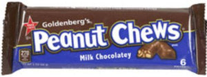 Goldenberg's Peanut Chew - Milk Chocolate 2 oz. - California Inmate Care Package