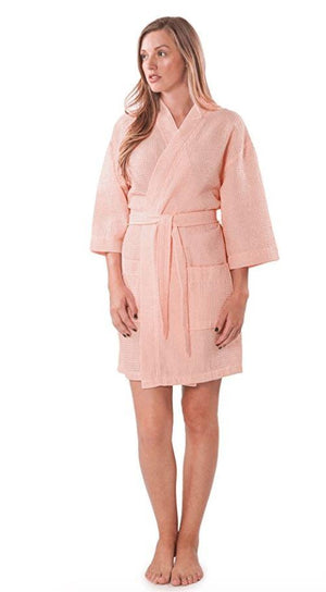 Linen Lightweight Kimono Robe - Wilson Inmate Package Program