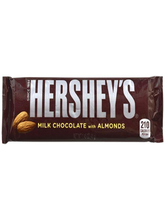 Hershey's Chocolate with Almonds 1.45 oz.