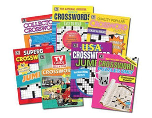 Kappa Crossword Puzzles (7 Booklets) - Wilson Inmate Package Program