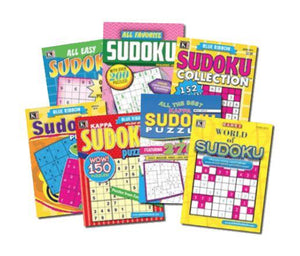 Kappa Sudoku Puzzles (7-Booklets) - Wilson Inmate Package Program