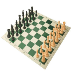 Tournament Style Chess Set (Carry Bag Not Permitted) - California Inmate Care Package