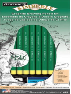 Drawing Pencil Kit - Wilson Inmate Package Program