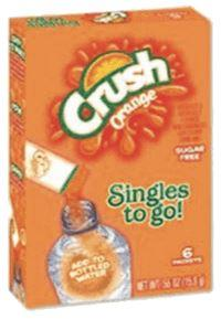 Orange Crush Singles 6ct. - California Inmate Care Package