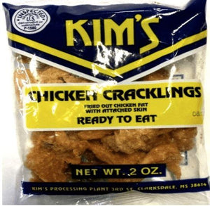 Kim's Chicken Crackling Rinds 2oz - Wilson Inmate Package Program