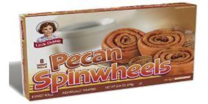 Little Debbie Pecan Spinwheels 8ct. - Wilson Inmate Package Program