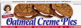 Little Debbie Oatmeal Cream Pies 12ct