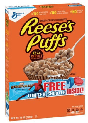 General Mills Reese's Puffs, 11.5oz - Wilson Inmate Package Program