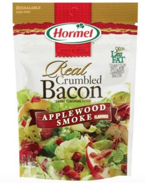 Hormel Real Crumbled Bacon, Applewood Smoke - Wilson Inmate Package Program