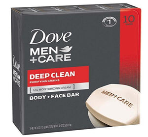 Dove Men+Care Body & Face Bar, 10 Bars - Wilson Inmate Package Program