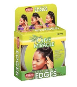 African Pride Olive Smooth Edges Gel - Wilson Inmate Package Program