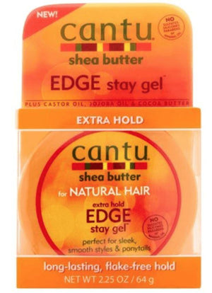 Cantu Shea Butter Extra Hold Edge Gel - Wilson Inmate Package Program