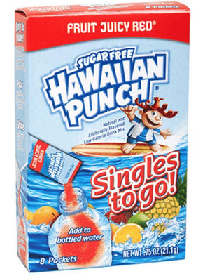 Hawaiian Punch To Go Singles - Wilson Inmate Package Program