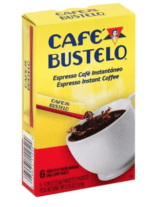 Café Bustelo Espresso Instant Coffee 6ct. - Wilson Inmate Package Program
