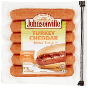 Johnsonville Smoked Turkey Sausage w/Cheddar - Wilson Inmate Package Program