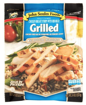 John Soules Chicken Breast Strips 8oz - Wilson Inmate Package Program