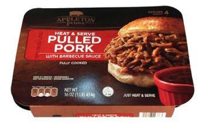 Appleton Farms Barbeque Pulled Pork Fully Cooked Meats - Wilson Inmate Package Program