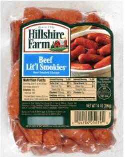 Hillshire Farm® Beef Lit'l Smokies 14oz - Wilson Inmate Package Program