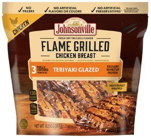 Johnsonville Grilled Teriyaki Chicken Breast - Wilson Inmate Package Program