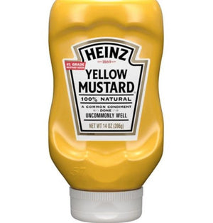 Heinz Yellow Mustard 14 oz - Wilson Inmate Package Program