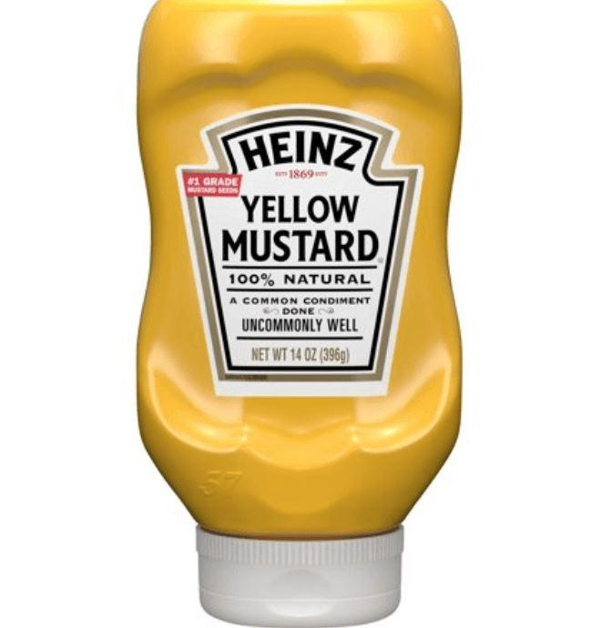 Heinz Yellow Mustard 14 oz
