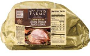 Appleton Farms Boneless Ham - Wilson Inmate Package Program