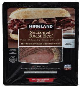 Kirkland Seasoned Sliced Roast Beef