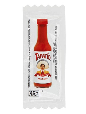 Tapatio Hot Sauce Travel Packets (25 packets)