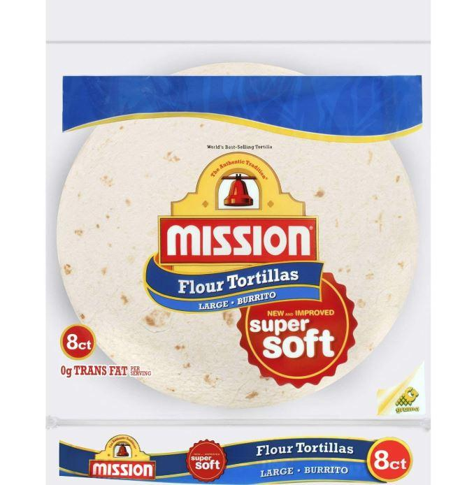 Mission Flour Soft Tortilla