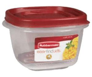 Rubbermaid Easy Find Lid 2-Cup Food Storage