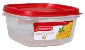 Rubbermaid 5 cup Easy Find Lids Container & Lid