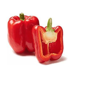 Fresh Red Peppers 2ct - Wilson Inmate Package Program
