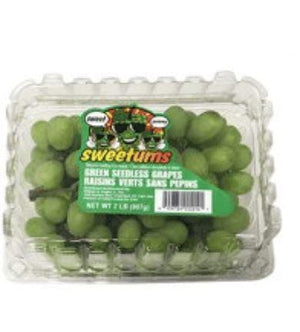 2lbs Fresh Green Grapes - Wilson Inmate Package Program
