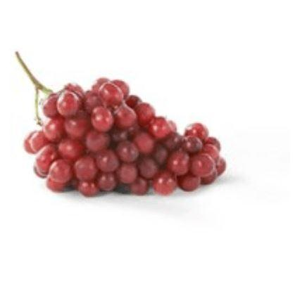 2lbs Fresh Red Grapes