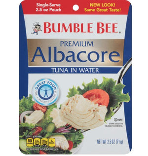 Bumble Bee Albacore Tuna Pouch - Wilson Inmate Package Program