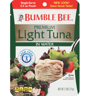 Bumble Bee Premium Light Tuna Pouch - Wilson Inmate Package Program