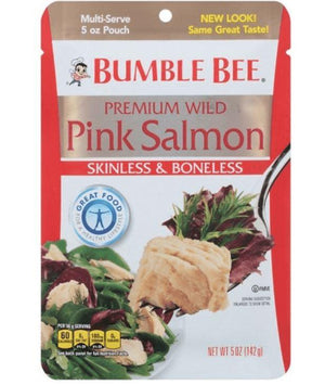Bumble Bee Premium Pink Salmon - Wilson Inmate Package Program