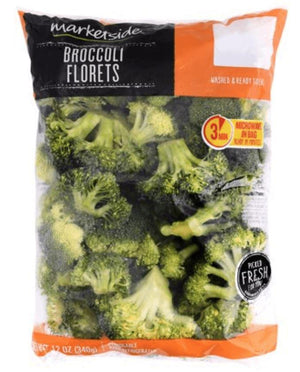 Fresh Broccoli Florets, 12 oz - Wilson Inmate Package Program