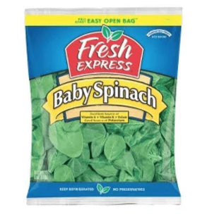 Fresh Baby Spinach 5oz - Wilson Inmate Package Program