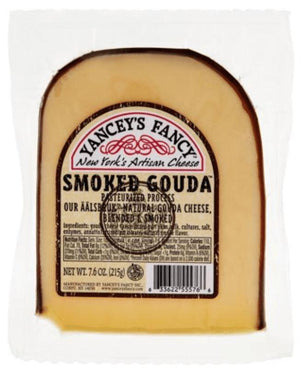 Yancey's Fancy Gouda Cheese Smoked, 7.6oz - Wilson Inmate Package Program