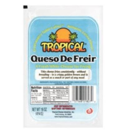 Tropical Fresh White Cheese for Frying, 16 oz